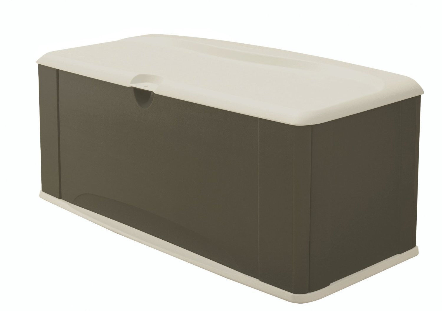 Storage Box Rubbermaid Deck Seat Resin New Lock Buffet