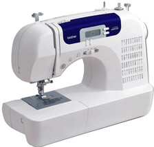 Brother Sewing Machine 60 Built-In Stitches Brother Hobby Fabric Buttons - $203.25