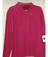 Catherine Stewart Women's Reversible Jacket XL 100% Wool Candy Pink Red ... - $54.17