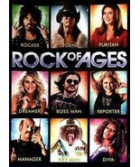 DVD Rock of Ages Julianne Hough Russell Brand WS Letterbox OC4A18 - $4.99