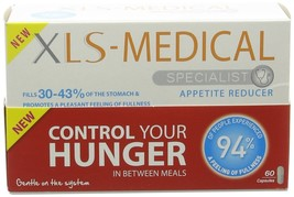 XLS Medical Appetite Reducer Diet Pills - Pack of 60 Diet Hunger Lose Weight - $17.62