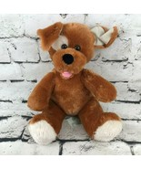 Build-A-Bear Workshop Puppy Dog Plush Brown Classic Spot Stuffed Animal ... - $14.84