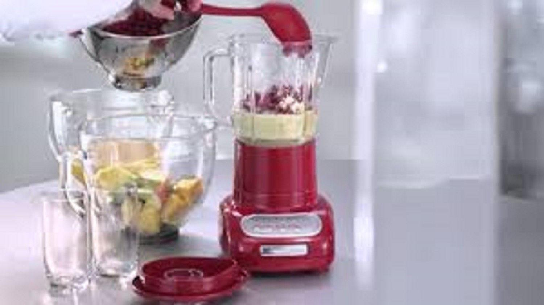 Kitchen Aid Blender  5-Speed Smoothie Ice Crush Healthy Puree Drink 500 W Pulse
