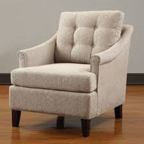 Club chair soft padded seating cozy casual living room for Casual living room chairs