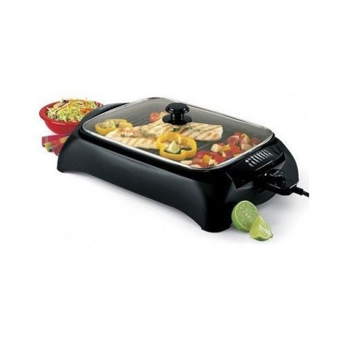 Countertop Grill Griddle Smokeless Electric Indoor Barbecue Kitchen Nonstick