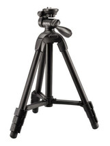 Tripod for Camera Lightweight Compact and 3-Way Pan/Tilt Head Video Hunt... - $48.99