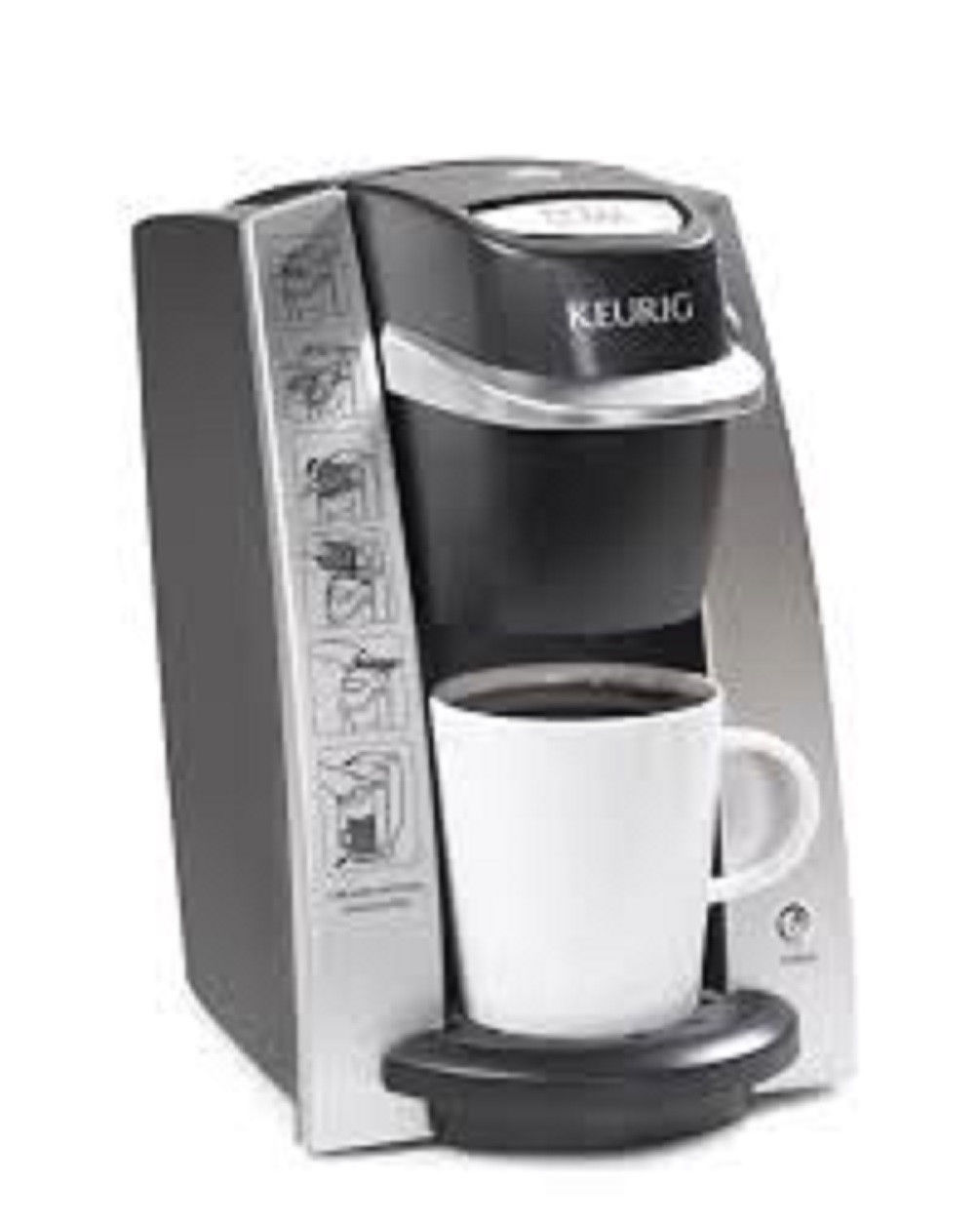 Dimensions Of Coffee Maker : Coffee Maker Tea Hot Chocolate Brew Size Favorite Enjoyment Keurig DeskPro - Single Serve Brewers