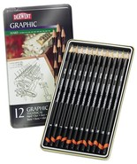 Derwent 12 Graphic Technical Hard Tin Set - $16.95