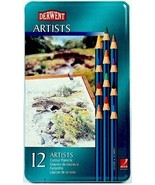 Derwent 12 Artists Colour Pencil Tin Set - $16.95