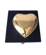 Classic Gold Coloured Heart Keepsake Urn - Funeral Urns - $57.60