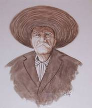 "ORIGINAL SIGNED RUIZ ""PORTRAIT OF A ELDER"" LATI... - $230.99"