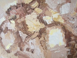 ORIGINAL SIGNED SILVIA LIEB LARGE ABSTRACT ART PAINTING - $1,999.99