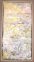 ORIGINAL SILVIA LIEB ABSTRACT ART DESIGNED COLLAGE - $865.40