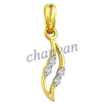 Unique 0.10 Ctw Natural  Diamond Hallmark 14K Yellow/White Gold Elegant ... - $475.00