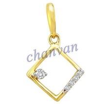 Unique !!0.14 Ctw Natural  Diamond Hallmark 14K Yellow/white Gold Party ... - $494.00