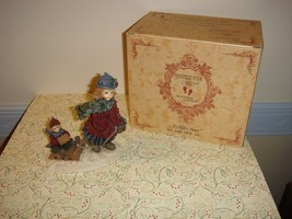 Boyds Dollstone Courtney With Phoebe Over The River & Through Woods - $23.99
