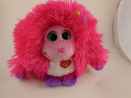 "Adorable Hot Pink  6""  Ty Luv Me Monstaz Trixie - $5.04"