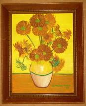"Original 1965 ""Still life"" Oil Painting by Georgene Gore Urbanek - $416.24"