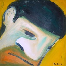 "Original Art 2010 Richard Eugene Barbera ""Let Down"" Painting - $961.99"
