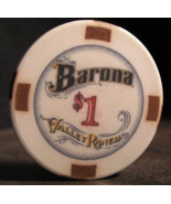 "$1.00 Casino Chip From: ""Barona Resort & Casino"" - (sku#2884) - $3.29"