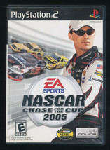 NASCAR 2005 Chase for the Cup PS2 Playstation 2 Complete - $9.90