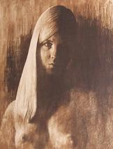 Original & Rare Hand signed & numbered Paul Ravelle Nude Woman Litho Art... - $675.49