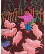 Original Signed Chinese Oriental Huxian JinShan Peasant Art Asian Painti... - $961.99