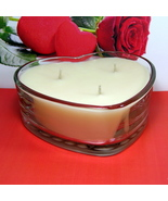 Love Spell (Type) PURE SOY Heart Container Candle - $12.50