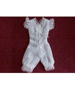 Dollhouse Bloomers Lady HOXZ916 Heidi Ott Lace Buttons White Miniature  - $21.50