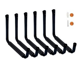 "Wintek Heavy Duty 9"" Arm Large Indoor Outdoor Storage Hooks Hangers with EVA Pro"