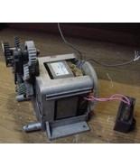 Japan Servo Co. a Geared 115 VAC  60 Hz 0.48 A Motor with external gears - $9.85
