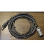 Military Radio Equipment 7 Pin Cable 8 FT With a Dlutsch DM9702-197 Conn... - $13.81
