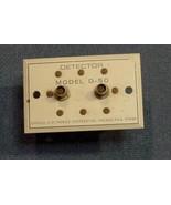 Jerrold Sweep Generator 900C Model D-50 Diode Detector Module . - $7.66