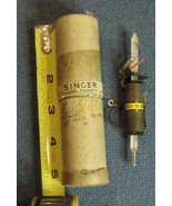 Vintage NOS Singer Vapor Products Chicago IL Model 2501-B-BB2 Mercury Th... - $7.82