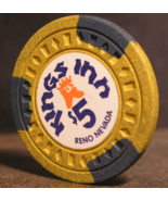 "1975 - $5.00 Casino Chip From: ""The Kings Inn"" - (SKU#2891) - $23.23"