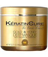 KERATIN CURE DEEP REPAIRATION CONDITIONING MASK CREAM GOLD & HONEY 1000G... - $75.00
