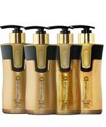Keratin Cure Brazilian Formaldehyde Free Hair Treatment Gold&Honey 4pc 3... - $213.99