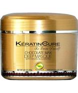 KERATIN CURE DEEP REPAIR CONDITIONING MASK CREAM CHOCOLATE ARGAN OIL 250... - $24.99