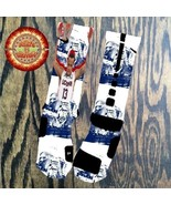 Shabazz Napier Uconn Huskies Custom Nike Elite Drifit Socks Elites Sock S M L XL - $38.61