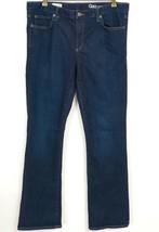 Gap 1969 Jeans 32R Perfect Boot Dark Wash Blue Denim Womens Regular - $17.81