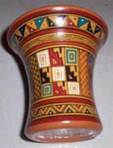 PERU INCA Handmade & Hand Painted Decorative Pottery Vase - $84.39