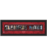 Personalized Illinois State UniversityCampus Letter Art Print - $42.95