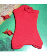 Barbie Red Swim Suit and Shoes - $15.00