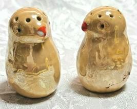 Lusterware Baby Chicks Salt And Pepper Shaker Set Vintage