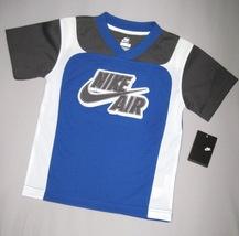 BOYS 4T - Nike - Nike Air Blue, Charcoal & White Short-Sleeved SPORTS JE... - $25.00