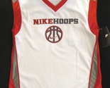 Nike hoops   white red gray basketball sports jersey  3  thumb155 crop