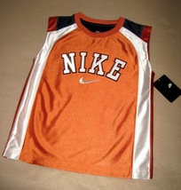BOYS 5 - Nike - Orange BASKETBALL SPORTS JERSEY - $16.77