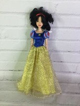 Disney Store Princess Snow White Classic Doll With Dress FLAWED For OOAK - $14.84