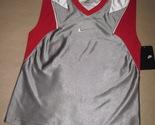 Nike   flight grey red white basketball sports jersey  8  thumb155 crop