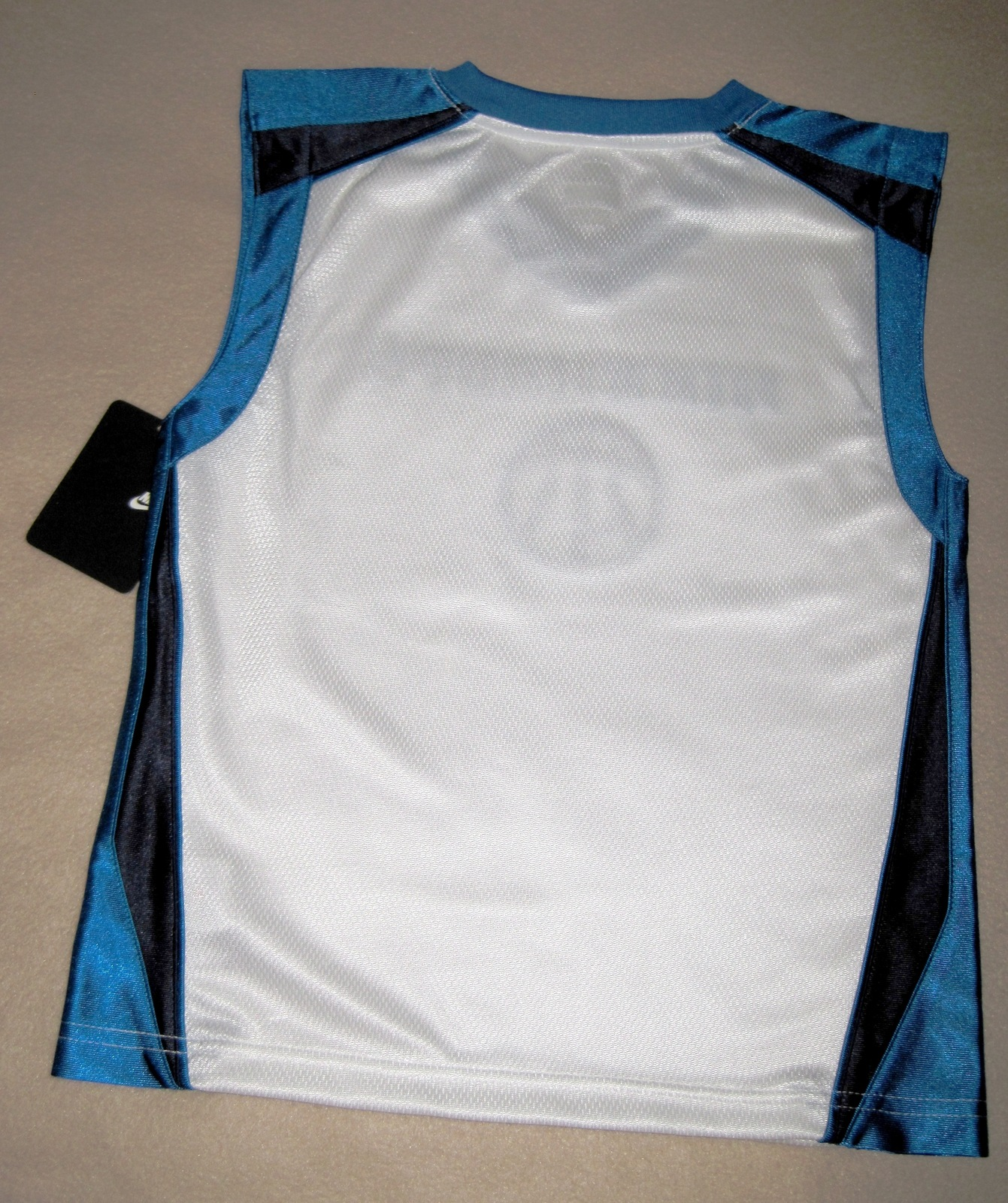 BOYS 6 - Nike Hoops - White-Electric Blue-Black BASKETBALL SPORTS JERSEY image 11